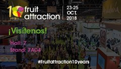 ZERYA® les invita a Fruit Attraction 2018