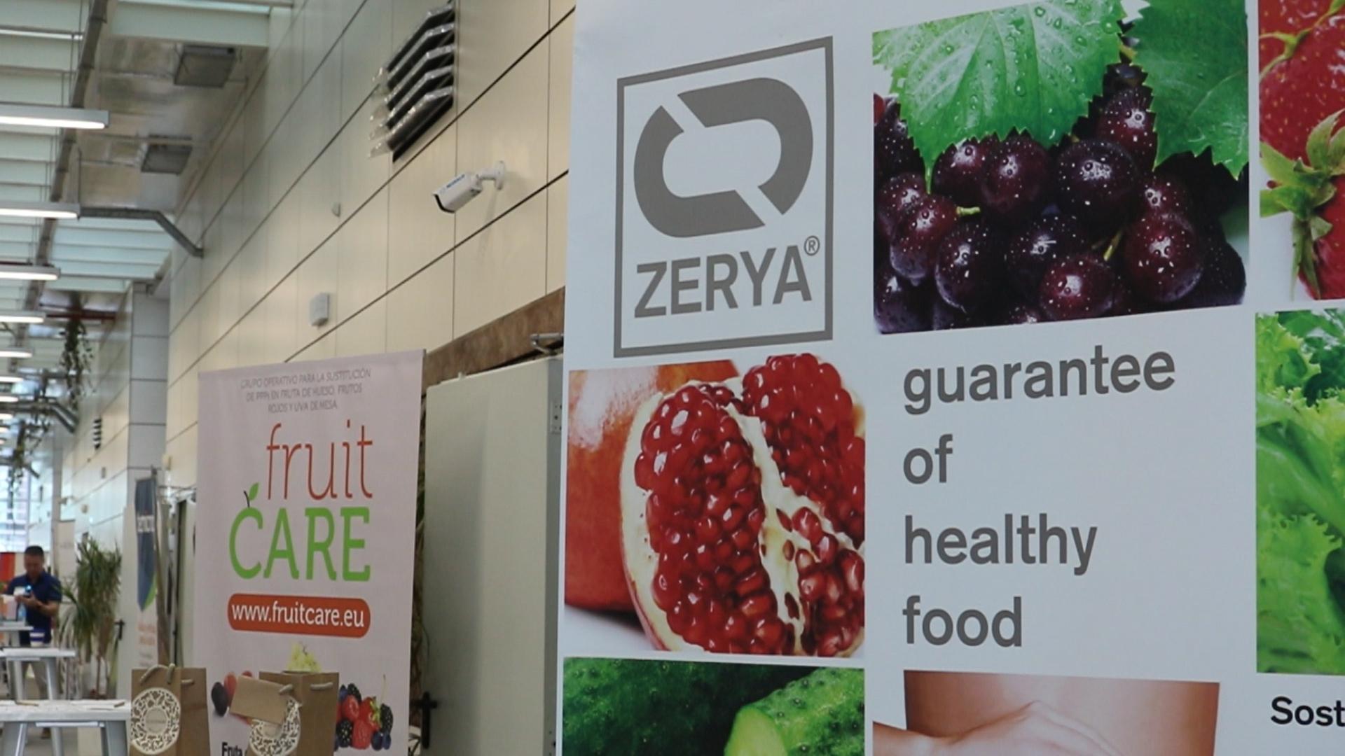 El Grupo Operativo FruitCare dispuso de un stand informativo en la #JornadaZERYA de Almería